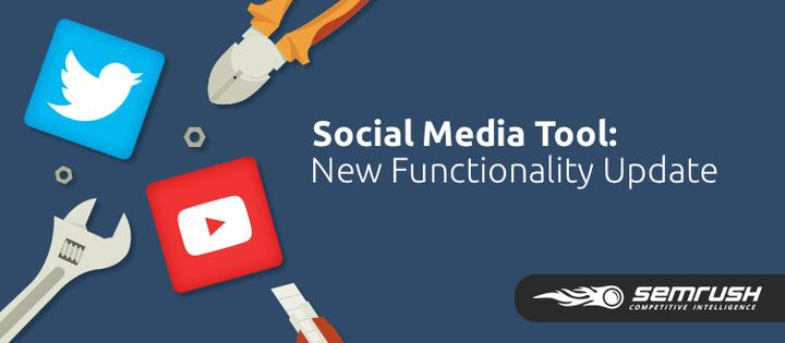 SEMrush: Social Media Tool: Improved Usability image 1