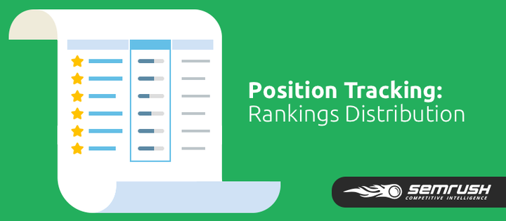 SEMrush: Position Tracking Tool: Rankings Distribution image 1