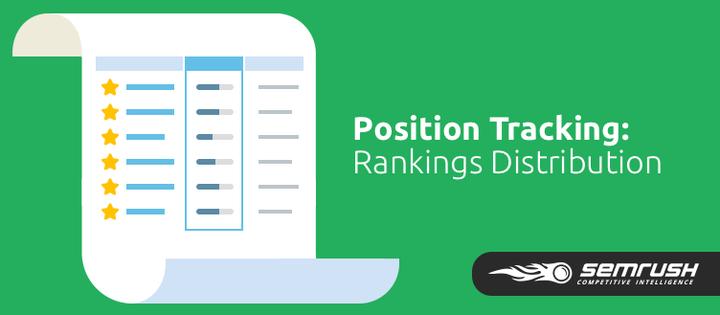 SEMrush: Position Tracking Tool: Rankings Distribution image 1