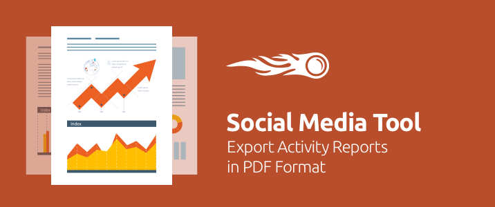 SEMrush: Social Media Tool: Export Activity Reports In PDF Format image 1