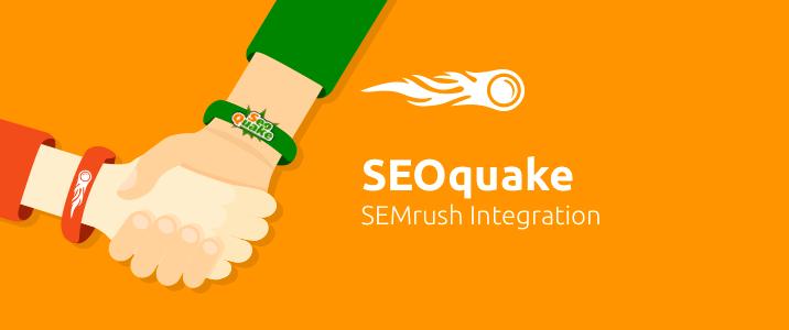 SEMrush: SEOquake: SEMrush Integration image 1