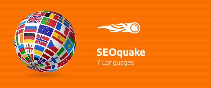 SEMrush: SEOquake: 7 Languages image 1