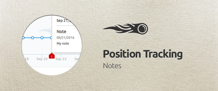 SEMrush: Position Tracking: Notes image 1