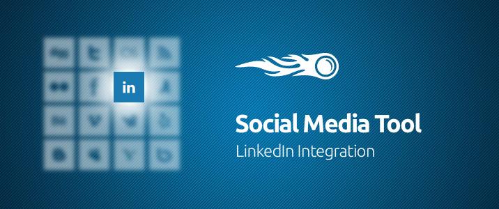 SEMrush: Social Media Tool: LinkedIn Integration image 1