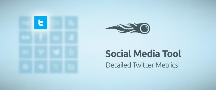 SEMrush: Social Media Tool: Detailed Twitter Metrics image 1