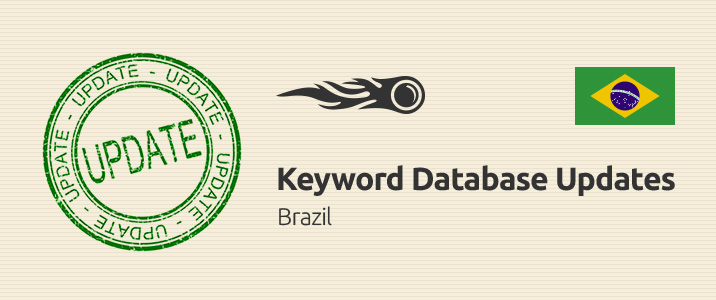 SEMrush: Keyword Database Updates: Brazil image 1