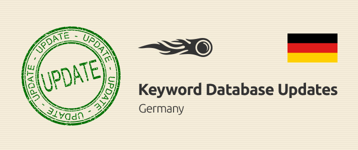 SEMrush: Keyword Database Updates: Germany imagem 1