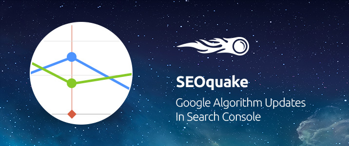 SEMrush: SEOquake: Google Algorithm Updates in Search Console image 1