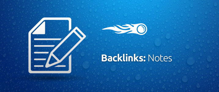 Backlinks notes banner