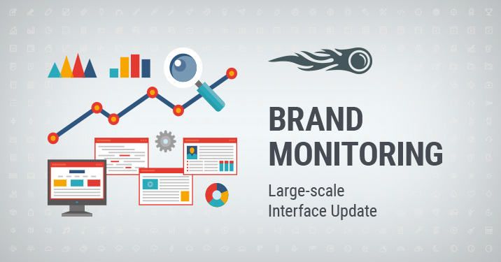 Brand Monitoring Large-scale Interface Update