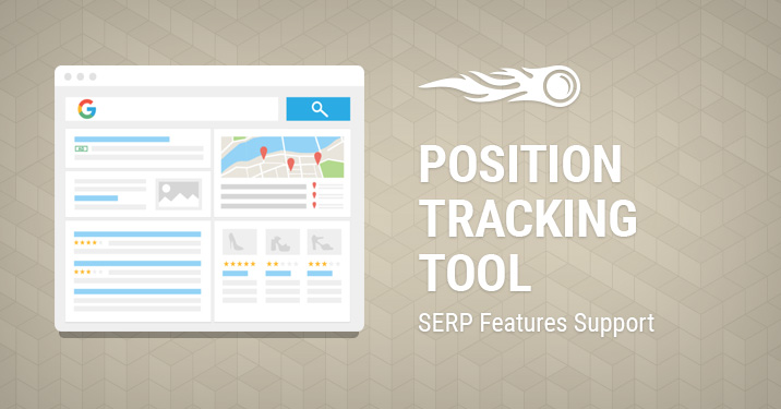 Position Tracking SERP Features support banner