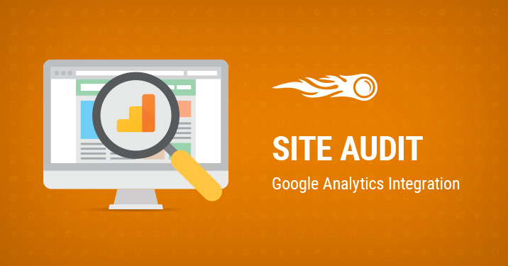 Site Audit Google Analytics integration banner