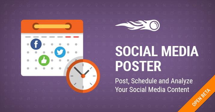 Баннер: Бета-версия Social Media Poster
